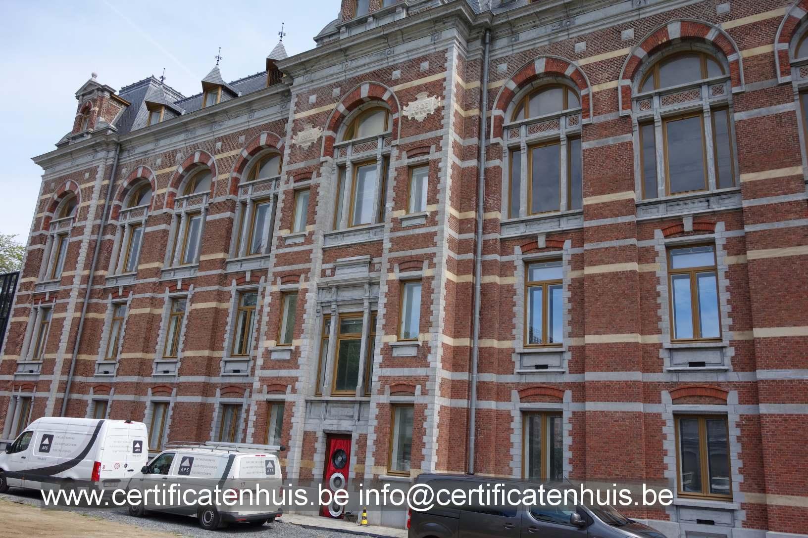 blowerdoortest-renovatie-erfgoed-Anderlecht